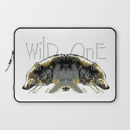 Timber Wolf Wild One Laptop Sleeve