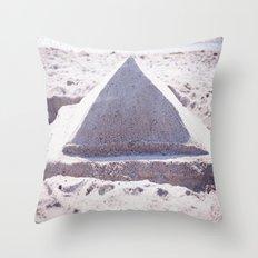 Sandy Triangle  Throw Pillow