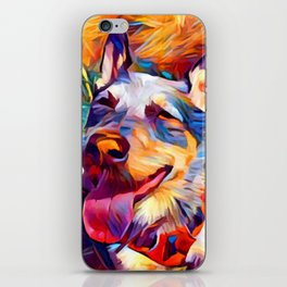 Australian Cattle Dog 2 iPhone Skin