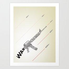 The Ammunition of War Art Print