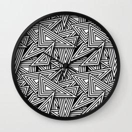 Triangle Funk Wall Clock