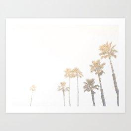 Tranquillity - gold dust Art Print