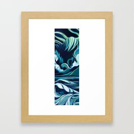 Northern Swell Framed Art Print