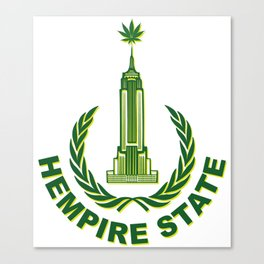 Hempire State Building Canvas Print