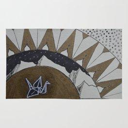 Crane of Consciousness Rug