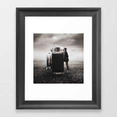 Looking Through Time Framed Art Print
