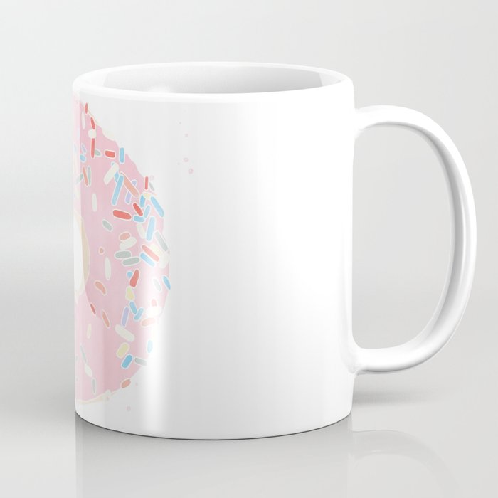 pink donut Coffee Mug