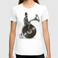 john T-shirts featuring Music Man by Eric Fan