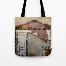 Unidimensional house Tote Bag