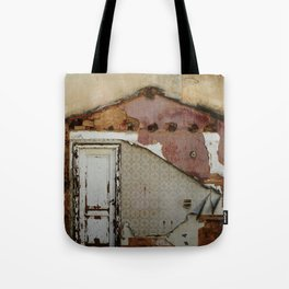 Unidimensional house Tote Bag
