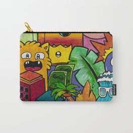 Tropical Cartoon Wall Art Carry-All Pouch