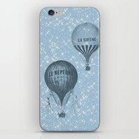 hot air balloons iPhone & iPod Skins featuring Hot Air Balloons by Zen and Chic