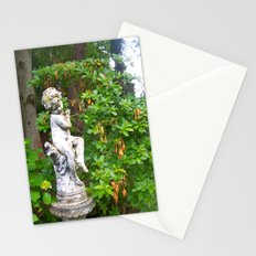 Irish Garden Statue  Stationery Cards