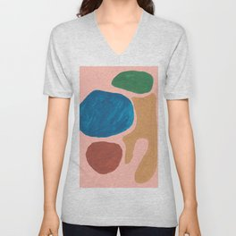 17    | Imperfection | 190325 Abstract Shapes Unisex V-Neck
