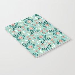 Floral Folk Pattern Notebook