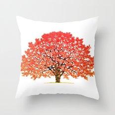 Japanese Maple 1 Throw Pillow