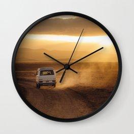 Campervan Wall Clock