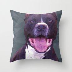 Boss Dog Throw Pillow