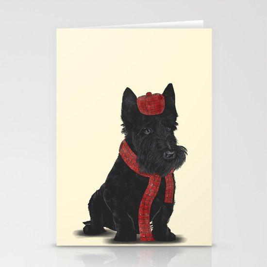 Scottie Stationery Cards