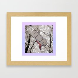 ouch Framed Art Print