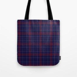 Pretty Plaid Tote Bag