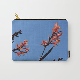 Red Flowers, Blue Sky Carry-All Pouch