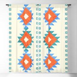 geometry navajo pattern no3 Blackout Curtain