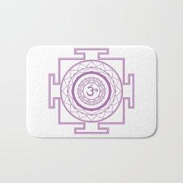 Sri Yantra Crown Chakra Bath Mat