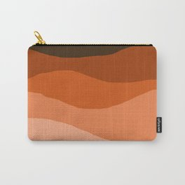 Choice - retro 70s style vibes sunset mountains desert ocean minimalist decor hipster 1970s Carry-All Pouch