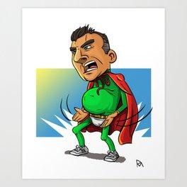 Impractical Joker Joe Art Print