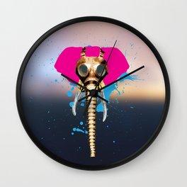 SteamPunk Elephant From TBNOB Wall Clock