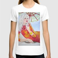 tequila T-shirts featuring Tequila Sunrise by Geraldine Warrior