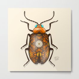Bug'n out with Brian Metal Print