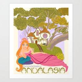 Andalasia Art Print