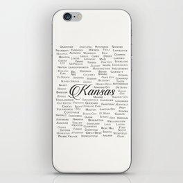 Kansas iPhone Skin
