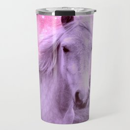 Pink Horse Celestial Dreams Travel Mug