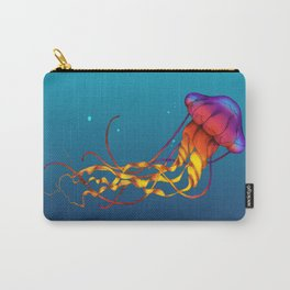Jellyfish Red Carry-All Pouch