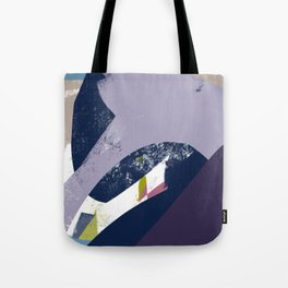 Sunday Winter Time vol.4 - Abstract Throw Pillow / Wall Art / Home Decor Tote Bag