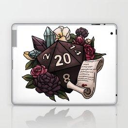 Warlock Class D20 - Tabletop Gaming Dice Laptop & iPad Skin