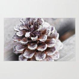 Soft Lone Pinecone Rug