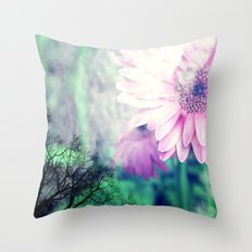 Falling for Spring Throw Pillow