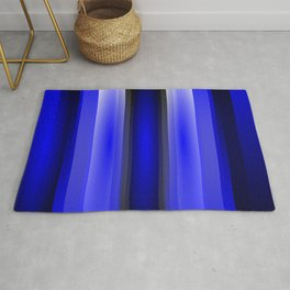 In the blue light Rug