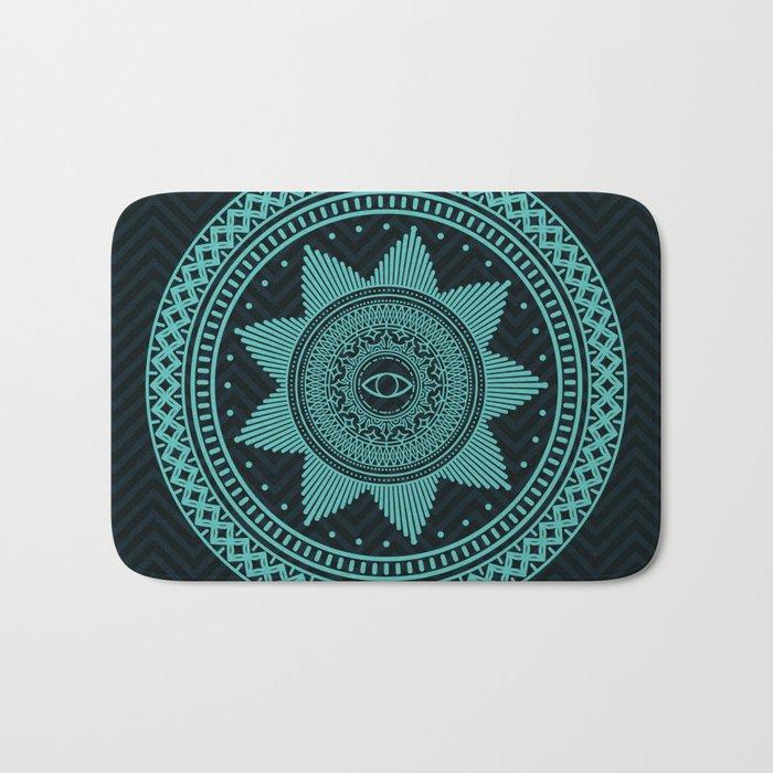 Eye of Protection Mandala Bath Mat
