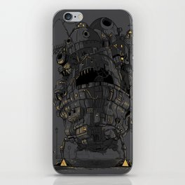 Clamped iPhone Skin