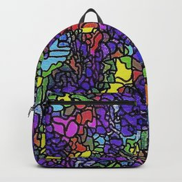 fantasy grid Backpack