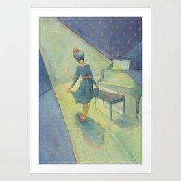 Recital Night Art Print