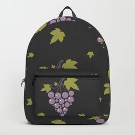 Grape Pattern Backpack
