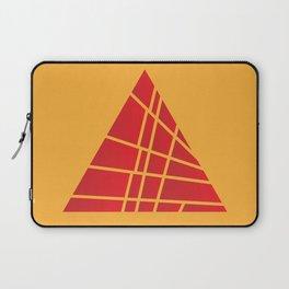 Sliced Red Pyramid Laptop Sleeve