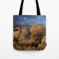 alabama Tote Bags featuring Alabama Hills. by alex preiss