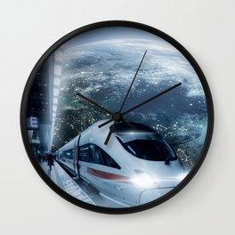 MUSK STATION Wall Clock